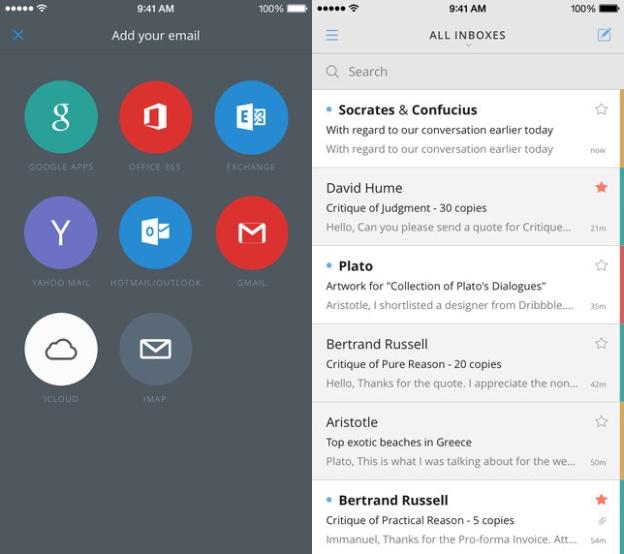 5 ứng dụng email tốt nhất trên iPhone