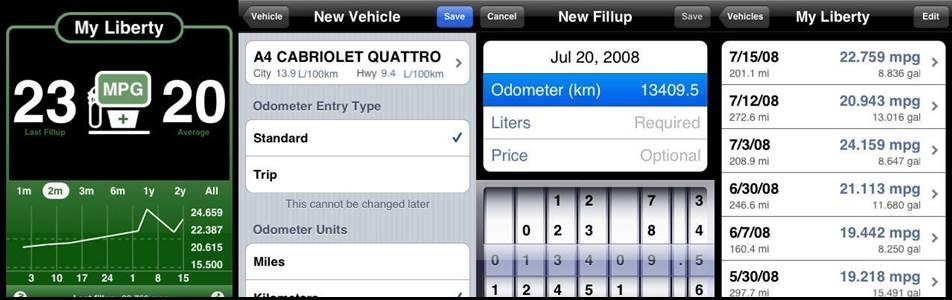 5 ứng dụng xe hơi hữu ích cho người dùng iPhone