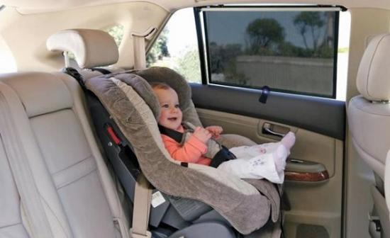Những trang bị không thể thiếu cho trẻ nhỏ trên ô tô